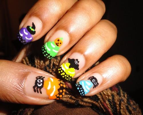 fuckyeahnailart: (via Halloween – Cupcake Nails « ♥... | by inspirationail