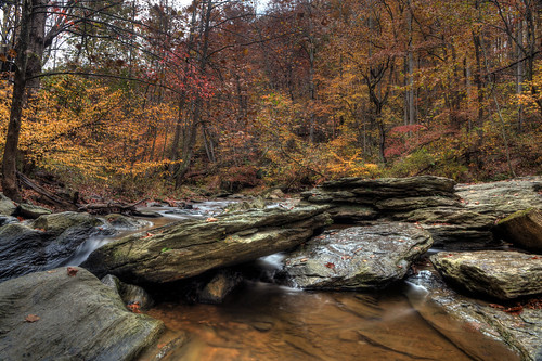 longexposure autumn color fall westminster rocks stream maryland foliage boulders cascades granite wetfeet slickrocks morganrun slightbreeze ef2470f28lusm canon5dmkii singhrayvarintrio