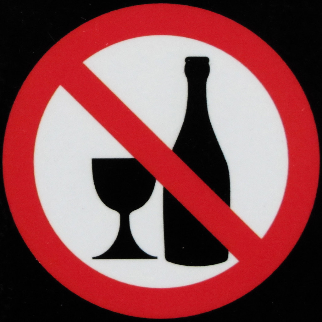 No alcohol to be consumed in this garden | The park faciliti