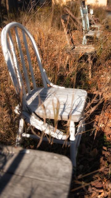 Les chaises de l'antiquaires