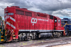 Clarendon and Pittsford Locomotive 203 by robtm2010
