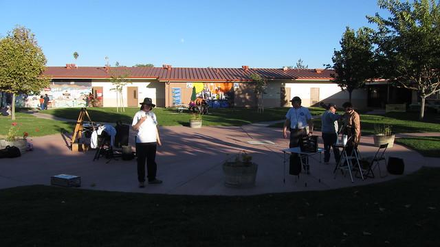 IMG_2484 121026 SBAU early telescope setup at Santa Ynez school
