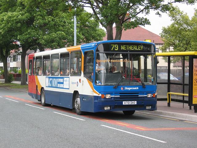 Stagecoach Merseyside 20701 (K701DAO)