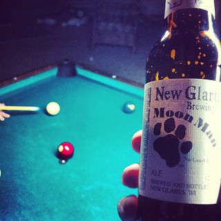 New Glarus Moon Man #2d1f #beer | by drewdomkus