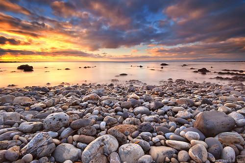 sunset clouds rocks southbay sanpedro palosverdesbeach