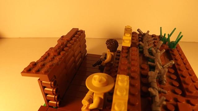 lego ww1 trench