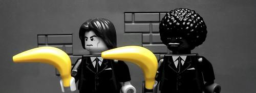 Lego Banksy Pulp Fiction
