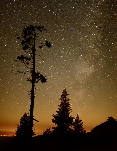 Meteorite and Milky way