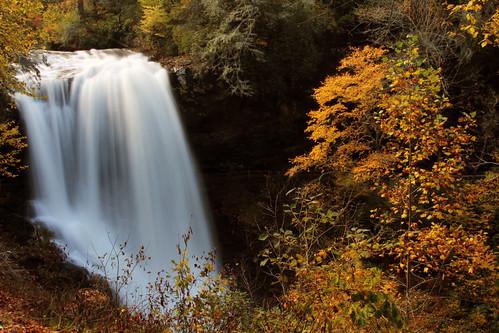 autumn waterfall dryfalls nantahalanationalforest cullasajagorge october2012