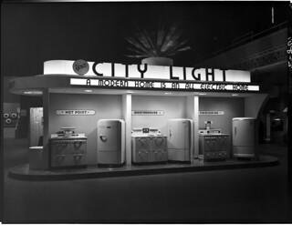 City Light display, 1940