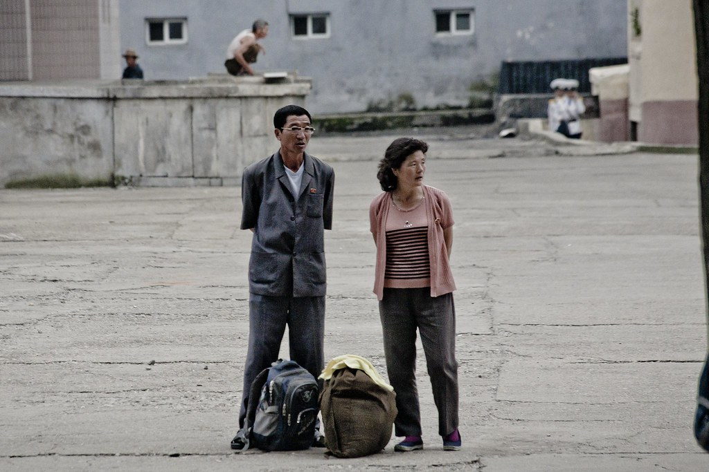 Pyongyang couple, DPRK (North Korea) | Pyongyang (평양