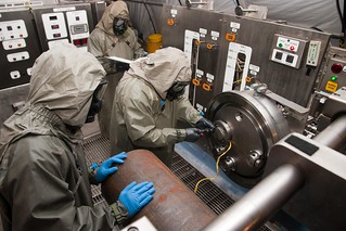 Army team destroys old chemical munitions | by U.S. Army Combat Capabilities Development Command