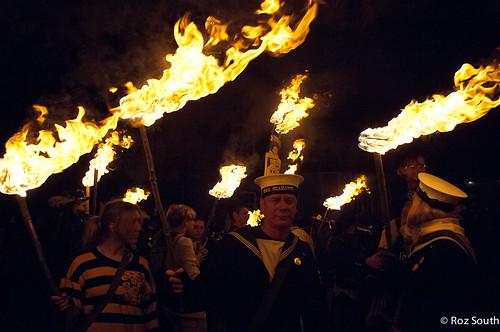 Firle Bonfire 2012