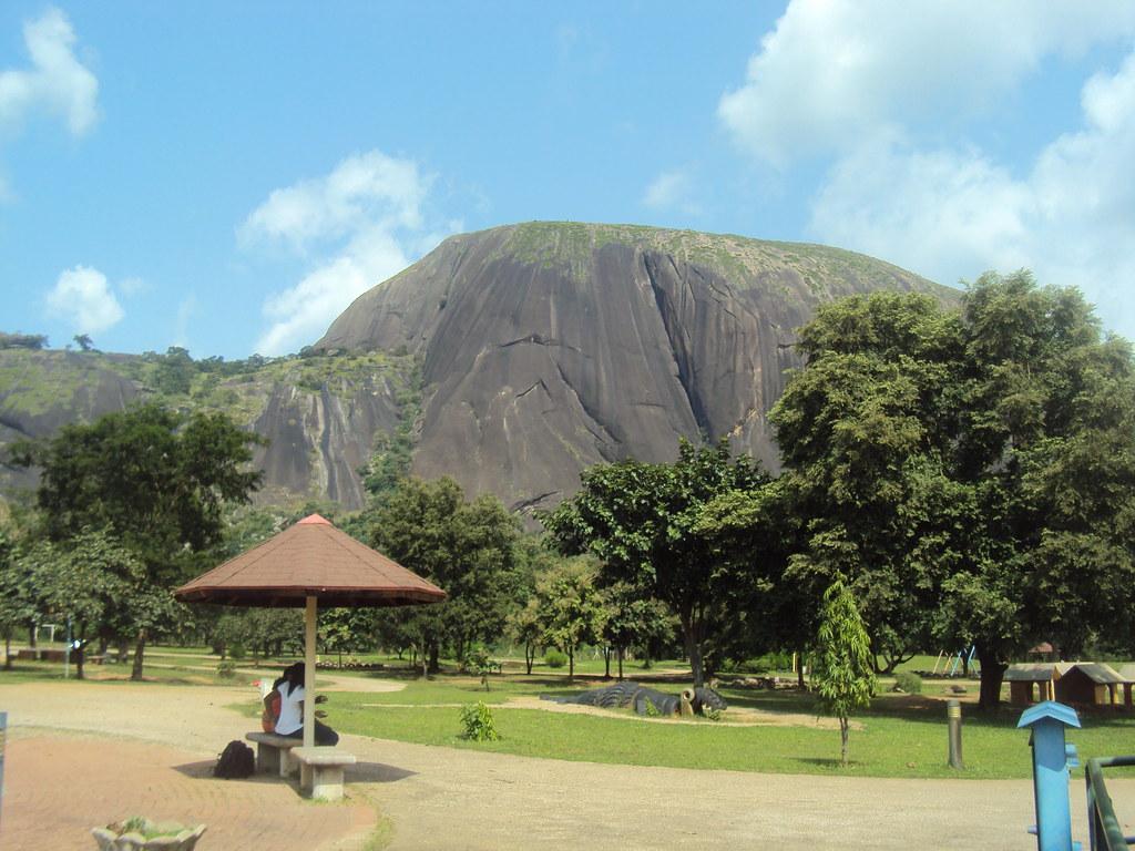 Aso Rock | Aso Rock View from Abuja Zoo JujuFilms.tv | Juju Films | Flickr