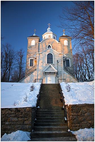 winter church pennsylvania pa centralia coal ukrainian region anthracite greekcatholic columbiacounty minefire coalcountry assumptionoftheblessedvirginmary
