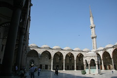 Mosque's Courtyard