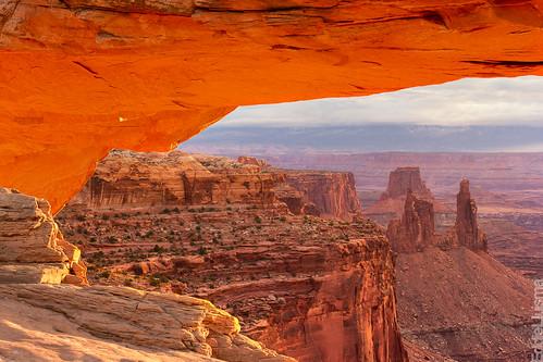 park sunrise landscapes utah glow arch national canyonlands moab eddie mesa lluisma