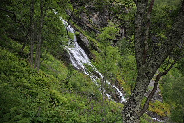 Waterfall near Myrdal