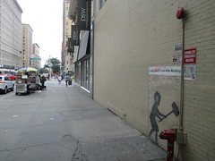 Help Zabars Save this Banksy Graffiti Street Art 3614