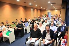 En la imagen se puede ver al público asistente en Izarra Centre.