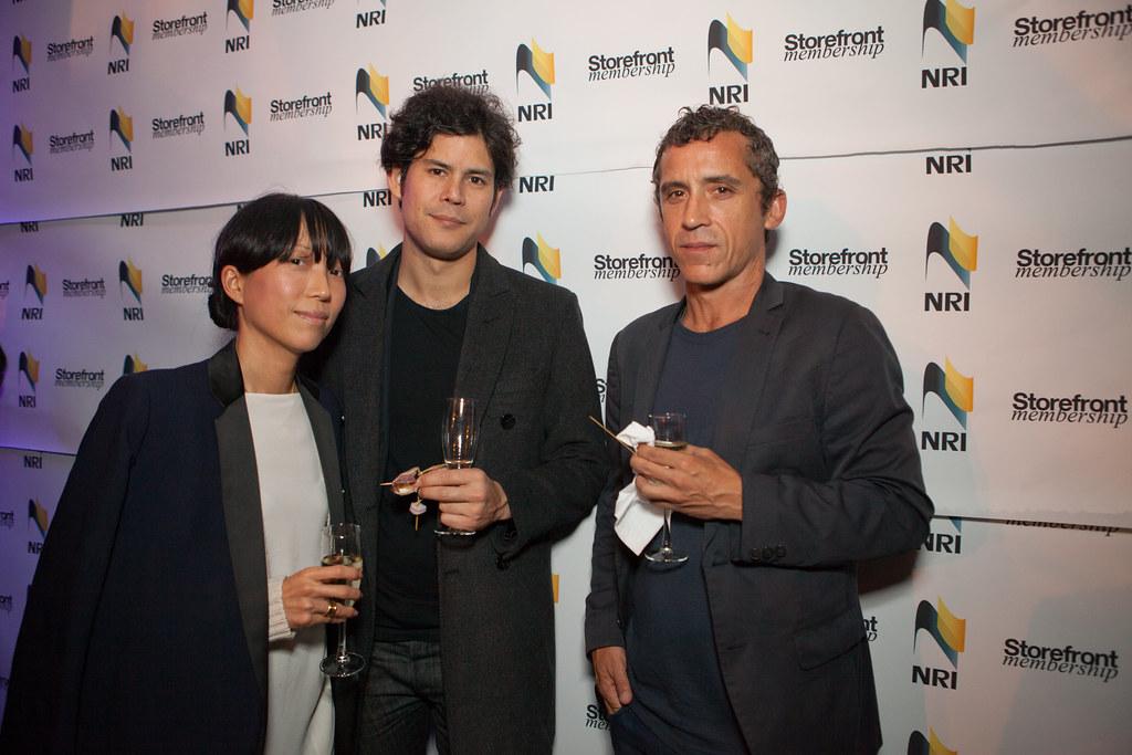 Jenniffer Newman, Chris Leong, Peter Macapia, Storefront M