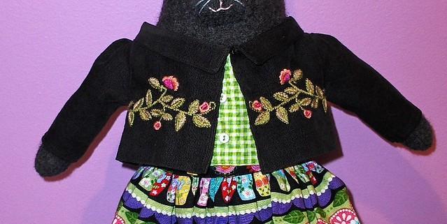 friend Kitty Doll, Corduroy Jacket Prototype