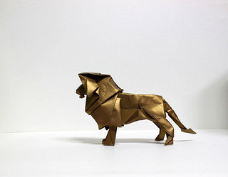 lion king | by paper folding artist redpaper