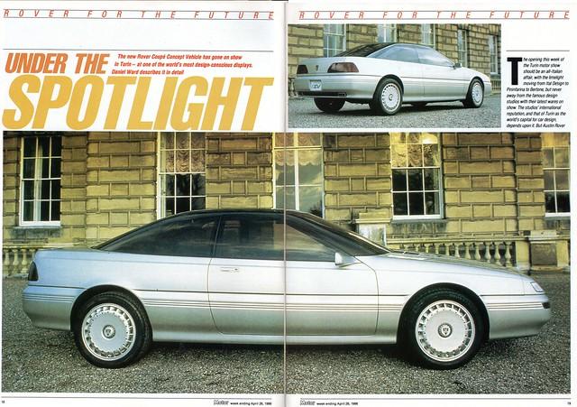 MG CCV Concept Car Review 1986 (1)