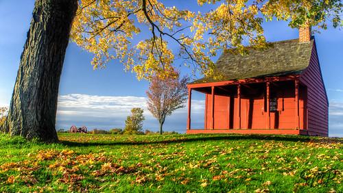 autumn sunset ny tree green fall nature leaves yellow landscape gold unitedstates sunny bluesky upstateny foliage americana newyorkstate stillwater sigma1020mm saratogacounty saratoganationalpark nikond7000