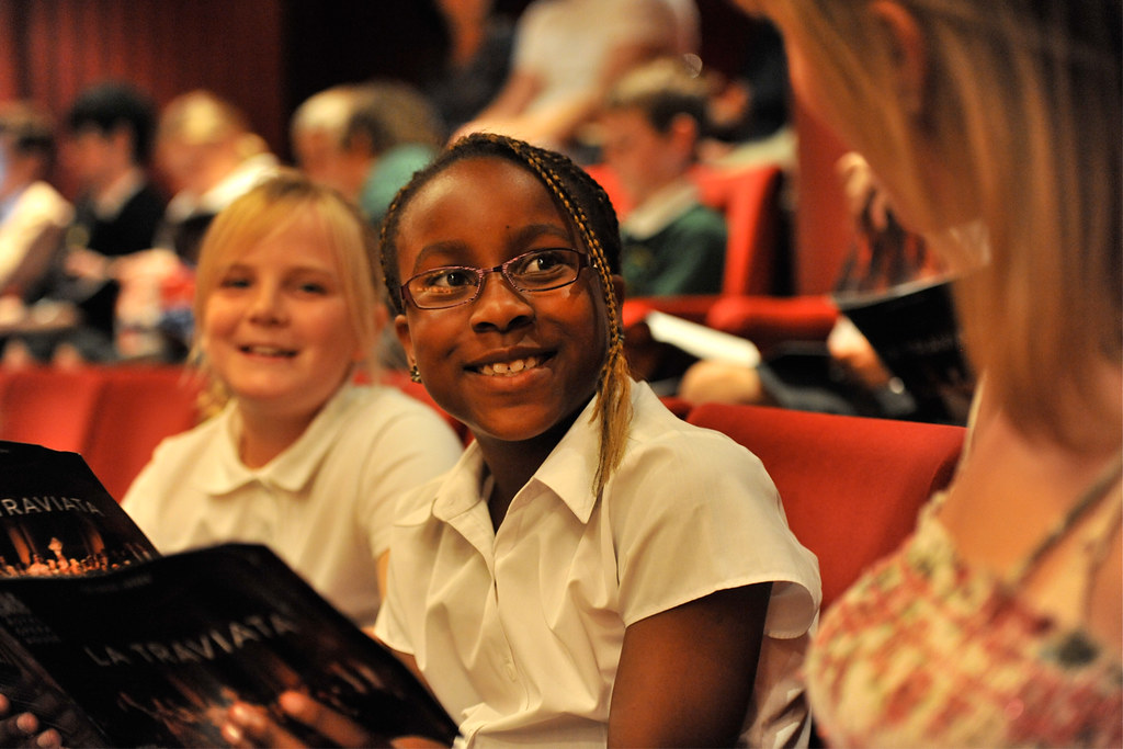 Schools' Matinees © Brian Slater 2011