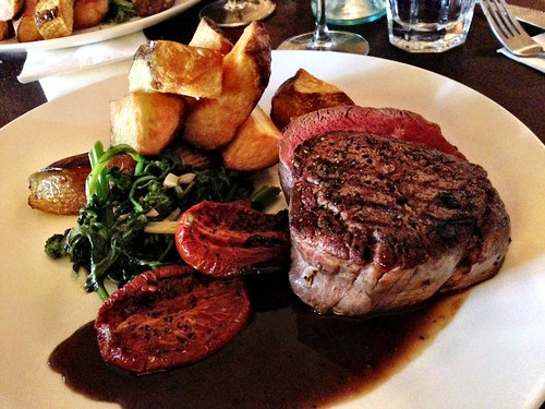 Grass-fed steak dinner special at Fitzrovia | by ultrakml