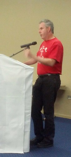 Michael Clifford speaks at Brisbane Labour History Association forum 121027 | by David Jackmanson