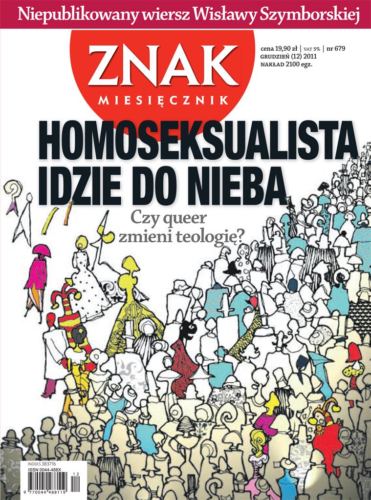 Homoseksualista Idzie Do Nieba Miesięcznik Znak 679 Www