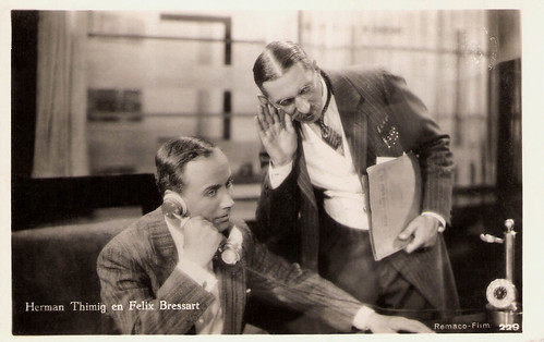 Hermann Thimig & Felix Bressart in Die Privatsekretärin (1931)