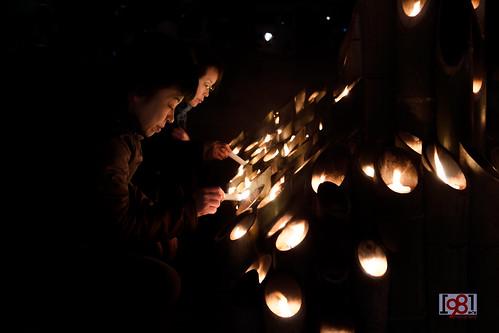 Gathering to commemorate the Hanshi-Awaji Earthquake on 17 Jan. | by Chea Phal