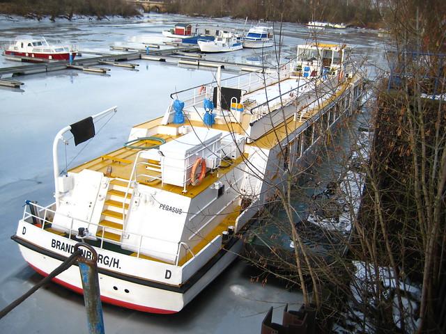 1992 FMS Pegasus (ex FMS Geltow) von Yachtwerft Köpenick im Zollhafen Am Winterhafen 1 in 39114 Magdeburg-Werder
