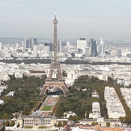 Top of Paris  #paris #france #toureiffel #landscape #topofparis | by ScriS - www.scris.it