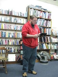 Reader #1 Reading | by shantipoet