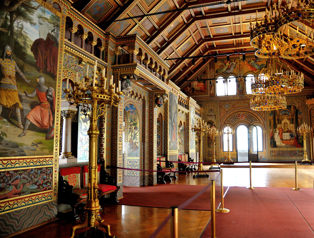 Singers Hall The Singers Hall In Neuschwanstein Castle