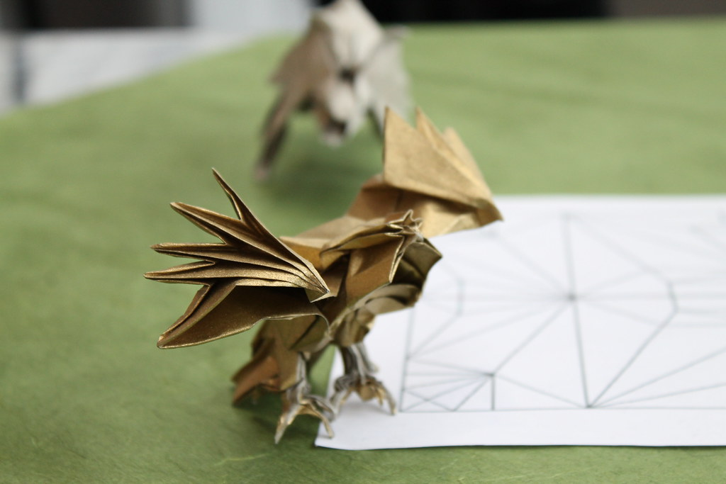 Origami Eagle (Nguyen Hung Cuong) | Blitz Origami | Flickr | 683x1024