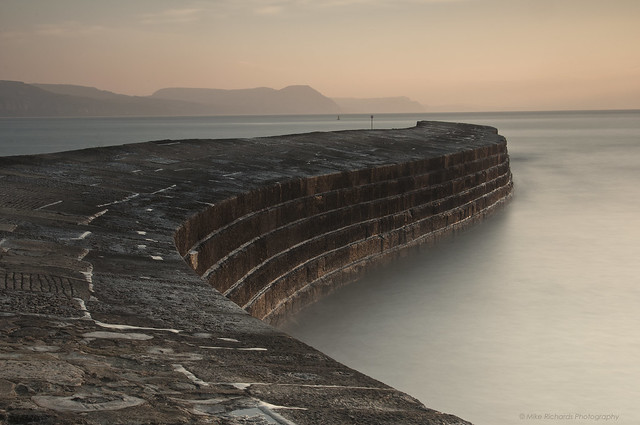 Lyme Regis Cobb Sunrise (Explored)