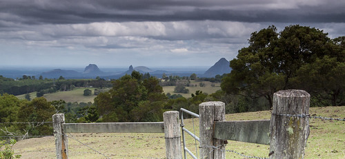 fence landscape farm australia qld queensland glasshousemountains glasshouse sunshinecoast maleny 15challengeswinner howellknob