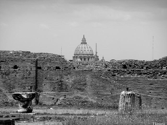 Il cupolone visto dal Palazzo di Domiziano