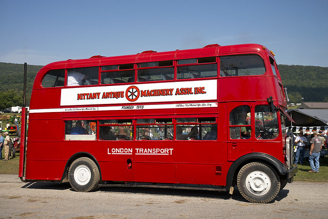 London RLH double decker bus in Pennsylvania