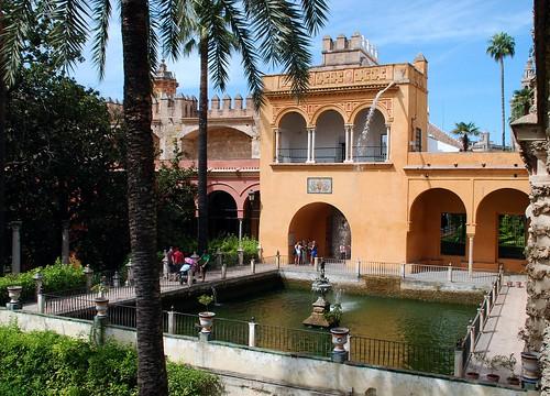 Estanque de Mercuriode los Reales Alcázares de Sevilla | by tetegil
