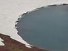 Na vrcholu Aždahaku, pohled do kráterového jezírka, foto: Petr Nejedlý