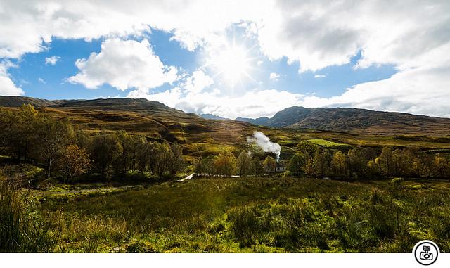 Landscape near Loch Lomond