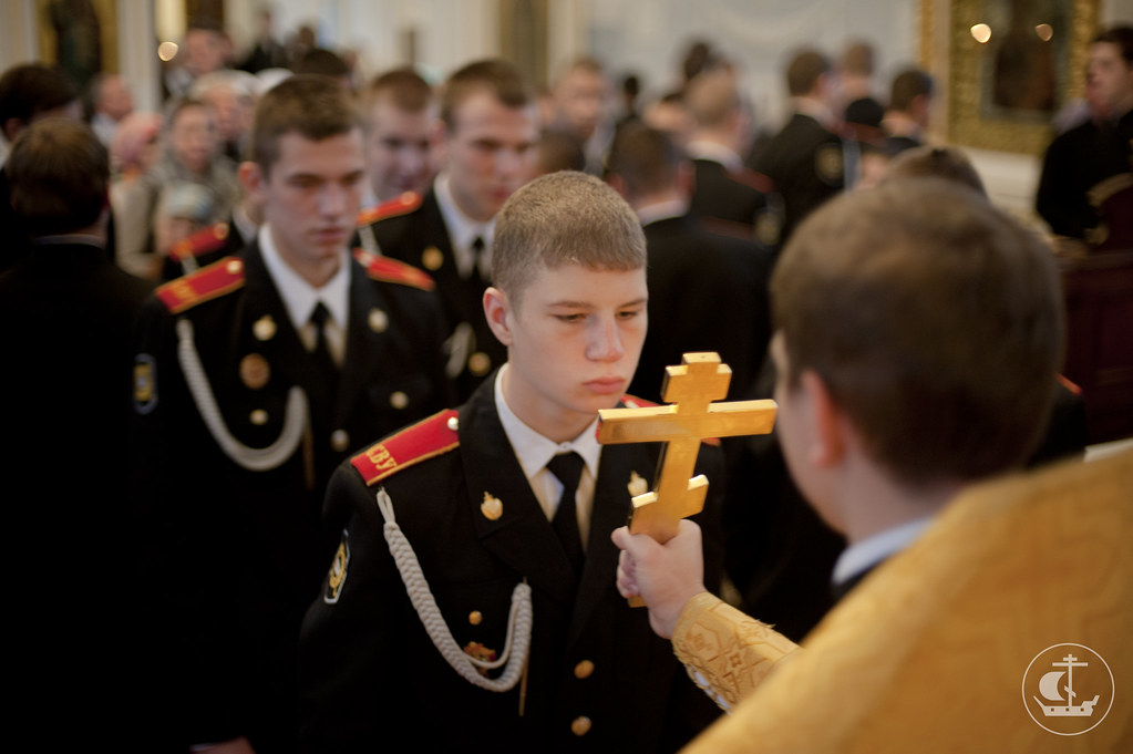 21 октября 2012, Литургия в день памяти Святых Отец VII Вселенского Собора