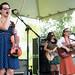 Les Bassettes at Festivals Acadiens et Créoles, Girard Park, Lafayette, Oct. 13, 2012