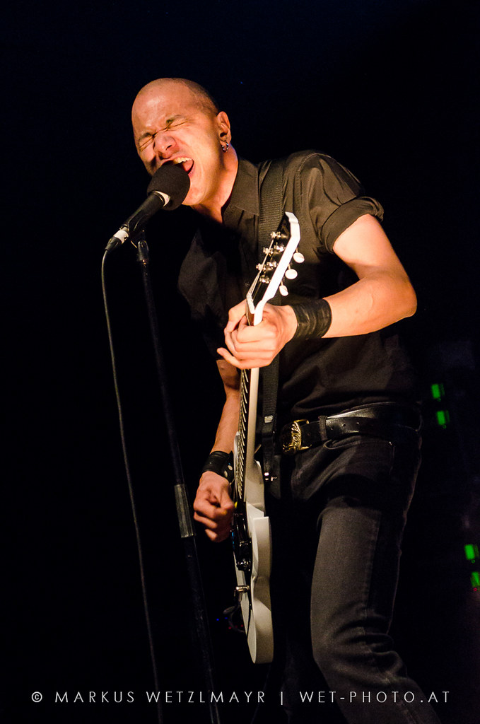 "Canadian Garage Rock band DANKO JONES performing live @ Arena Wien, Vienna, Austria on October 29, 2012.  Check it out @ <a href=""https://www.wet-photo.at/2012/10/danko-jones-arena-wien/"" rel=""noreferrer nofollow"">WET-photo</a>"